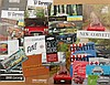 1950's-1960's Corvette and 1960's-1970's Firebird brochures, 68 items