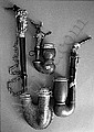 THREE WHISTLES, AMONG OTHER THINGS ULMER KLOBEN VERSCH. E150, -