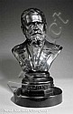An American Bronze Portrait Bust of Ulysses S., Frederick Volck, Click for value