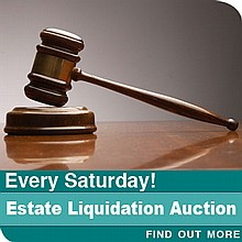 Estate Liquidation--General Merchandise Auction