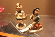 2 Hummel Figurines