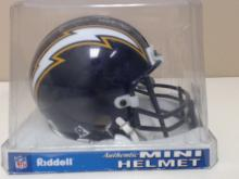 Charlie Joiner HOF 96 Autographed San Diego  Chargers Mini Helmet