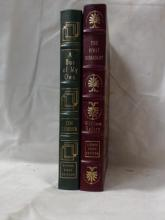Easton Press:  A BUS OF MY OWN, Jimi Lehrer;  THE FIRST DISSIDENT, William Safire, Signed,  First Editions.