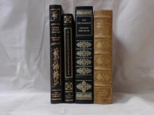 Franklin Library, Four Volumes:  THE  DECAMERON, Giovanni Boccaccio, Illustrated,  1977; THE AUTOBIOGRAPHY OF BENJAMIN FRANKLIN,  1979; LAMB IN HIS BOSOM, Illustrated, 1978;  THE PILGRIM'S PROGRESS, John Bunyan, Limited