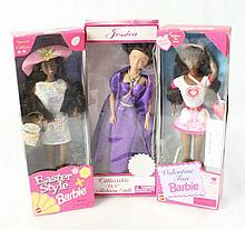 3pc - 2 Barbie Dolls and 1 Jessica Doll