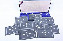 US Miniature Coin Collection Franklin Mint