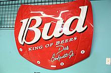 Plastic Budweiser Hood