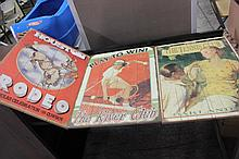 3 Wooden Advertising Signs