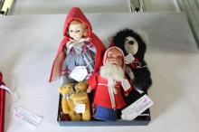 5 Piece Toy & Doll Collection