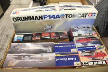 Box Lot of Model Cars and Planes