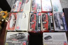 Box Lot of Corvette Model Cars