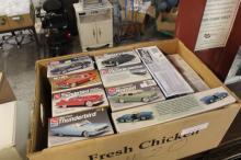 Box Lot of Misc Model Cars