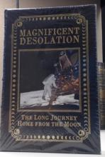 SIGNED Buzz Aldrin Easton Press Magnificent  Desolation, NASA Apollo 11