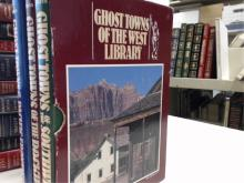 3 Vol. Ghost Towns of the West Library,  Lambert Florin