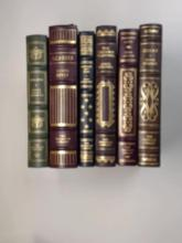 Franklin Library, Six Volumes:  Walden 1976;  Ulysses 1976; Fathers and Sons 1981; Thurber  Carnival 1980; Paradise Lost 1981; Giant  1979; Limited Editions.