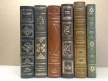Franklin Library, Six Volumes:  TALES OF THE  SOUTH PACIFIC, James A. Michener, Illustrated  1975; THE RETURN OF THE NATIVE, Thomas  Hardy, Illustrated 1978; ARROWSMITH, Sinclair  Lewis, Illustrated 1975; FROM DEATH TIL