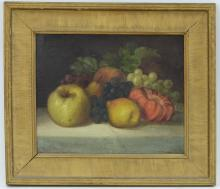 George E. Candee still life of fruit