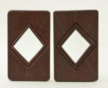 American Folk Art Carved wood frames