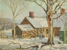 Winfield Scott Clime: Winter Shadows