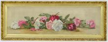Victorian Floral Still Life with Roses