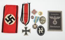 WWII Nazi German military lot