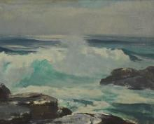 Harry Russell Ballinger: Marine Oil on Canvas
