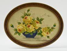 Walter Wilson: Still Life of flowers