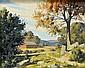 Bertram G. Bruestle 1906-1968 Landscape Painting