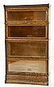 Globe Wernicke Company Oak Barrister Bookcase
