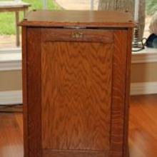 Antique Cigar Cabinet