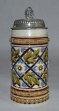 Mettlach Mosaic Stein