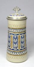 Mosaic Mettlach Stein