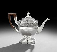 American Coin (.900) Silver Teapot