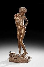 French Spelter Sculpture of