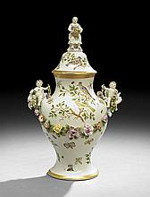 Meissen-Style Covered Urn