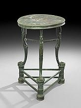 Italian Grand Tour Metal Occasional Table