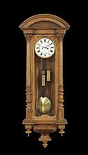 Walnut-Cased Vienna Regulator