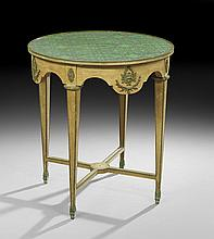 Louis XVI-Style Ormolu-Mounted Center Table