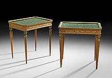 Pair of Louis XVI-Style Occasional Tables