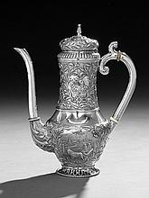 Dutch Second Standard (.833) Silver Coffeepot