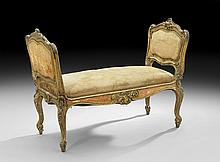 Italian Giltwood Window Seat