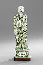 Chinese Export Porcelain Figure of an Official
