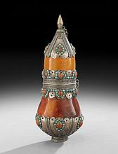 Central Asian Gourd Flask
