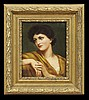 Manner of Lord Leighton (British, 1830-1896), Lord Frederic Leighton, $375