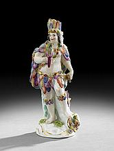 Meissen Porcelain Allegorical Figure of