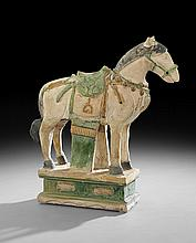 Chinese Terracotta Sancai Horse