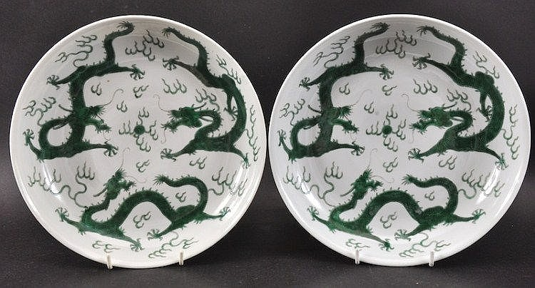 A PAIR OF LATE 19TH CENTURY CHINESE PORCELAIN