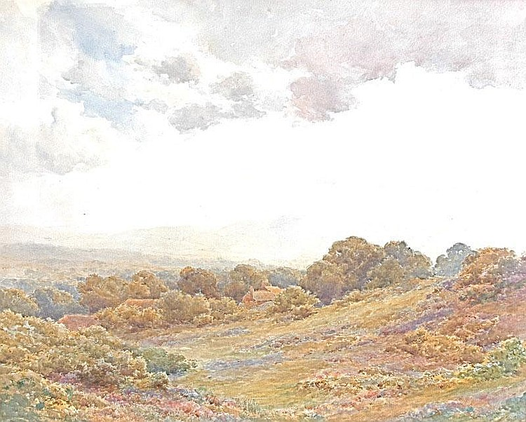 JOSEPH POWELL Hindhead, Surrey. Signed. 18.5 x