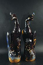 A LARGE PAIR OF EARLY 20TH CENTURY CHINESE