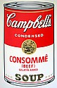WARHOL SUNDAY B. MORNING CONSOMME SOUP